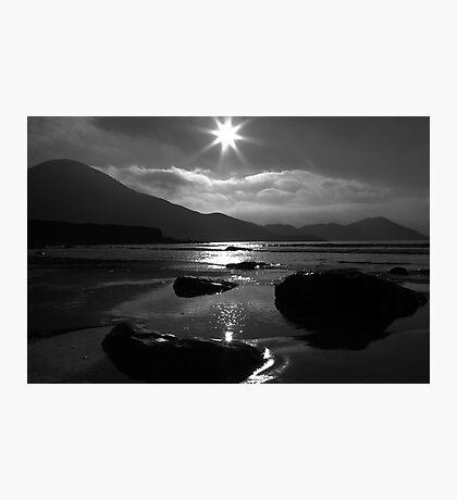 Setting Sun Star Photographic Print