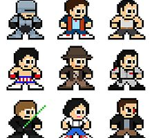 8-bit 80s Action Movies by 8 Bit Hero