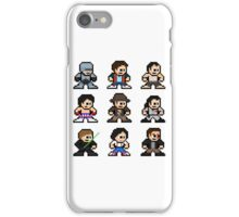 8-bit 80s Action Movies iPhone Case/Skin