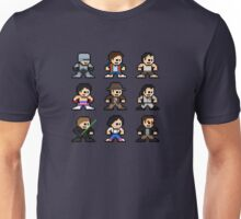 8-bit 80s Action Movies Unisex T-Shirt