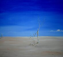 Barren Landscape by Linda Ridpath