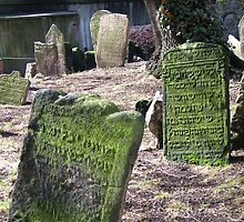The Old Jewish cemetery in Josefov, the former Jewish ghetto of Prague by Gili Orr