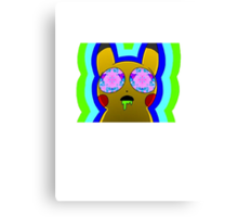 Trippy Pikachu Canvas Print