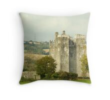 Barryscourt Castle Throw Pillow