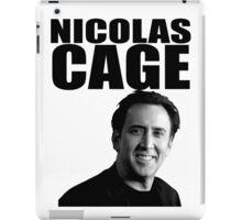 Nicolas Cage iPad Case/Skin
