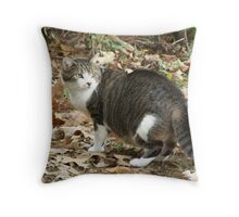 The Great Cat Throw Pillow
