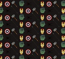 Avengers Assemble by Diddlys-Shop