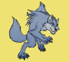 Cute werewolf Baby Tee