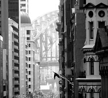 Harbour Bridge View 1 by Paul Todd