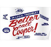 Better Call Cooper Poster