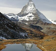 Riffelsee and the Matterhorn by Fran E.