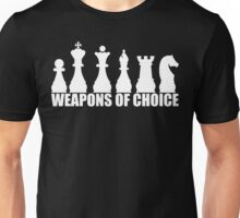 Chess - Weapons of Choice T Shirt Unisex T-Shirt