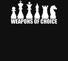 Chess - Weapons of Choice T Shirt Unisex T-Shirt