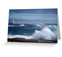 Stormy Seas Greeting Card