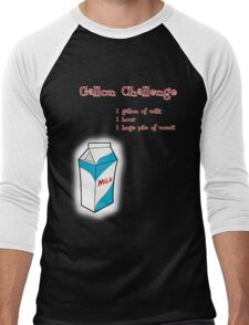 Gallon Challenge Men's Baseball ¾ T-Shirt