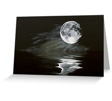 the fullest moon Greeting Card
