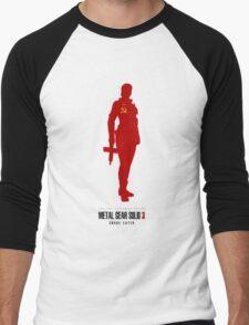 THE BOSS (MGS3) Men's Baseball ¾ T-Shirt