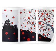 Japanese Cherry Blossom - Nathan Dukes Poster