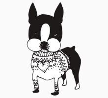 Sweater Dog Kids Tee