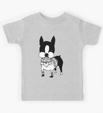 Sweater Dog Kids Tee