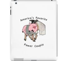 America's Favorite Power Couple iPad Case/Skin