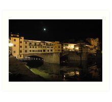 Ponte Vecchio  Firenze Italy Art Print