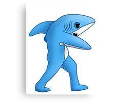 Super Bowl Shark Canvas Print