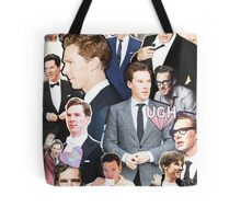 benedict cumberbatch collage Tote Bag