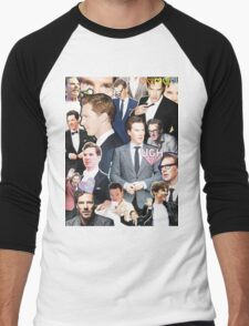 benedict cumberbatch collage Men's Baseball ¾ T-Shirt