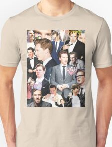 benedict cumberbatch collage Unisex T-Shirt