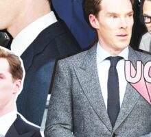 benedict cumberbatch collage Sticker