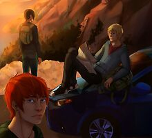 Road to Adventure by Amelia Buff