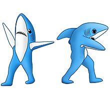 Super Bowl Sharks Photographic Print