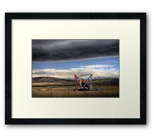 Longview, Alberta Framed Print
