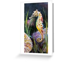 Rainbow Seahorse - Seahorse Series Greeting Card