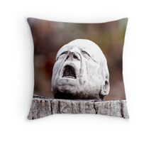 The Agony Throw Pillow