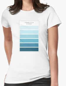 The Maine American Candy Paint Swatch Womens Fitted T-Shirt