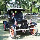 1922 Ford Model T Runabout  by Glenna Walker
