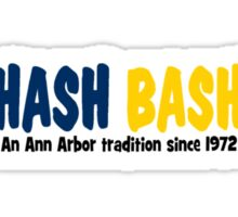 Hash Bash Sticker