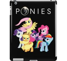 Ponies iPad Case/Skin