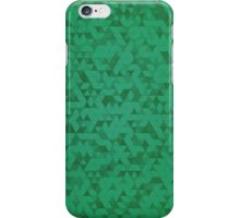 Green Triangles iPhone Case/Skin