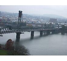 Hawthorne Bridge Photographic Print