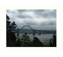 Yaquina Bay Bridge Art Print