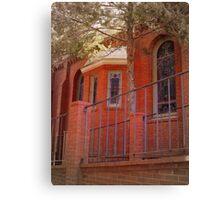 Red Brick Church Canvas Print