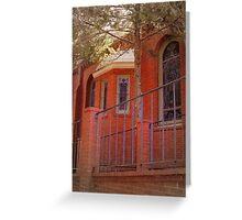 Red Brick Church Greeting Card