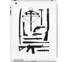The Walking Dead Weapons iPad Case/Skin