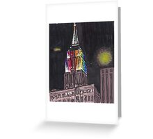 empire state pride Greeting Card