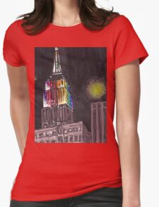 empire state pride Womens Fitted T-Shirt