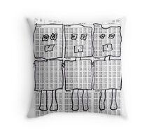 d-botts Throw Pillow