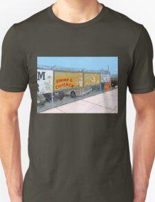 coney island shrimp and chicken Unisex T-Shirt